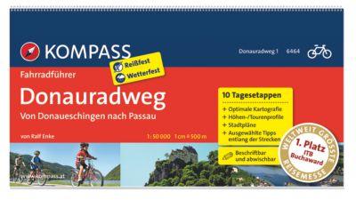 Kompass - Fahrradführer (Ausgabe: Donauradweg) - Ralf Enke pdf epub