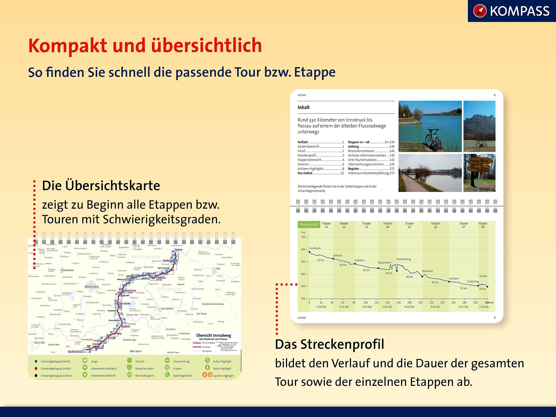 Isarradweg Karte.Kompass Fahrradfuhrer Isarradweg Von Mittenwald Nach