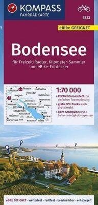 KOMPASS Fahrradkarte Bodensee 1:70.000 -  pdf epub