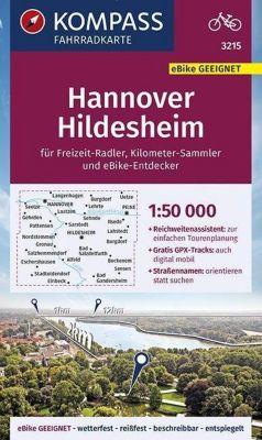 KOMPASS Fahrradkarte Hannover, Hildesheim 1:50.000 -  pdf epub