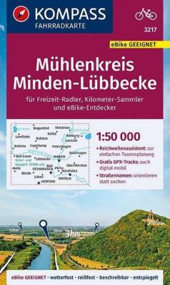 KOMPASS Fahrradkarte Mühlenkreis Minden-Lübbecke 1:50.000 -  pdf epub
