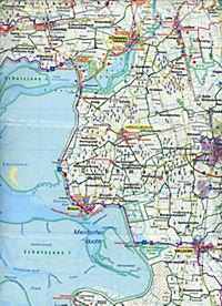 Kompass Grossraum-Radtourenkarte Schleswig-Holstein, Hamburg, Ostfriesland, 2 Bl. - Produktdetailbild 2