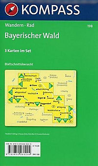 Kompass Karte Bayerischer Wald, 3 Bl. - Produktdetailbild 1