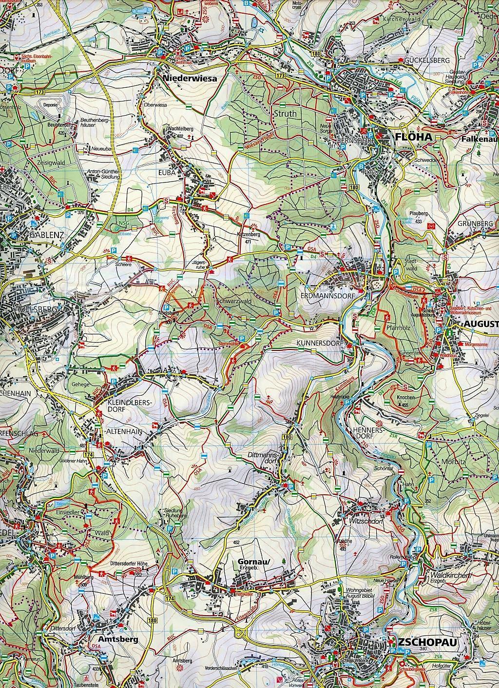 Chemnitz Karte.Kompass Karte Chemnitz Und Umgebung Buch Bestellen Weltbild De