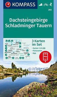 Kompass Karte Dachsteingebirge, Schladminger Tauern