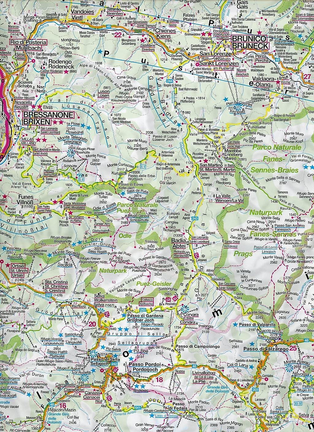 dolomiten karte Kompass Karte Dolomiten Dolomiti Dolomites Buch   Weltbild.de