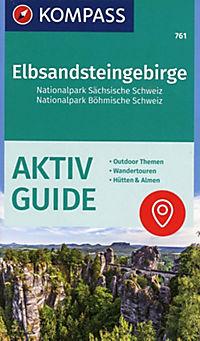Kompass Karte Elbsandsteingebirge, Nationalpark Sächsische Schweiz, Nationalpark Böhmische Schweiz - Produktdetailbild 1
