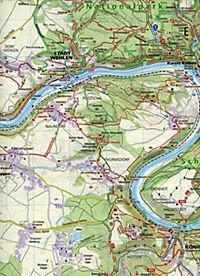 Kompass Karte Elbsandsteingebirge, Nationalpark Sächsische Schweiz, Nationalpark Böhmische Schweiz - Produktdetailbild 2