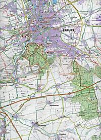Halle Saale Karte.Kompass Karte Erfurt Weimar Jena Gera Halle Saale 2 Bl