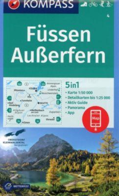 Kompass Karte Füssen, Ausserfern