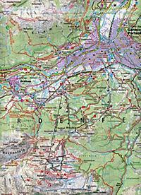 Kompass Karte Garmisch-Partenkirchen, Mittenwald - Produktdetailbild 2