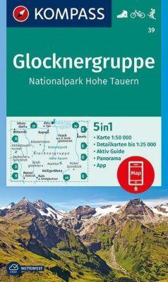 Kompass Karte Glocknergruppe, Nationalpark Hohe Tauern