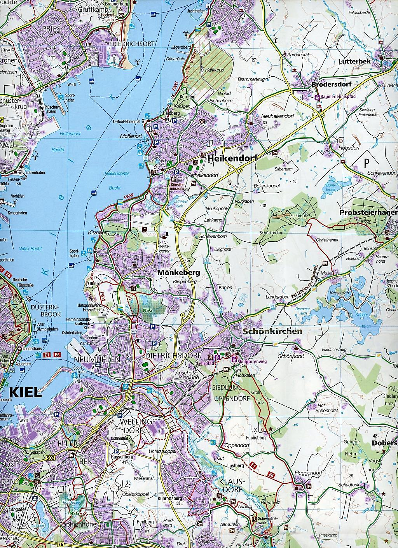 Holsteinische Schweiz Karte.Kompass Karte Holsteinische Schweiz Fehmarn 2 Bl Buch