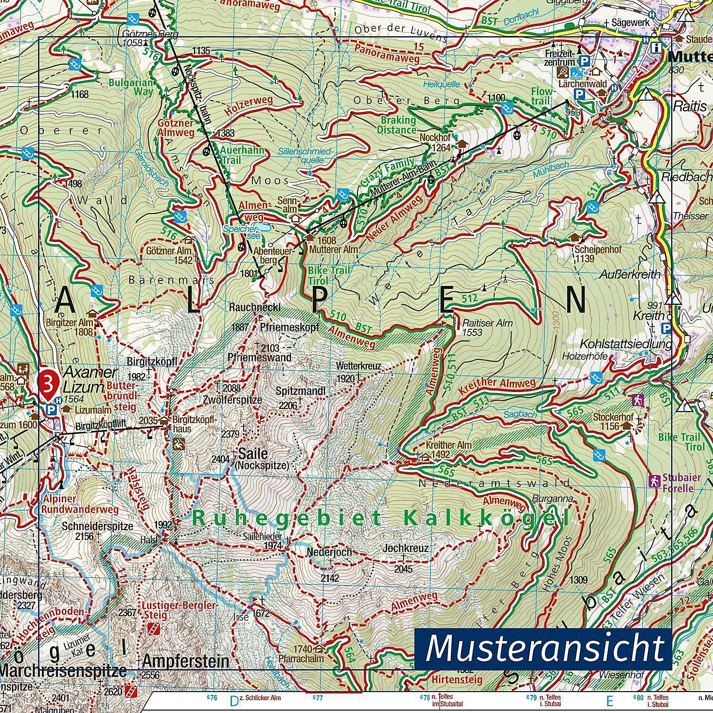 Pitztal Karte.Kompass Karte Inneres ötztal Und Pitztal Gurgler Tal Venter Tal Buch
