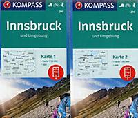 Kompass Karte Innsbruck und Umgebung, 2 Bl. - Produktdetailbild 1