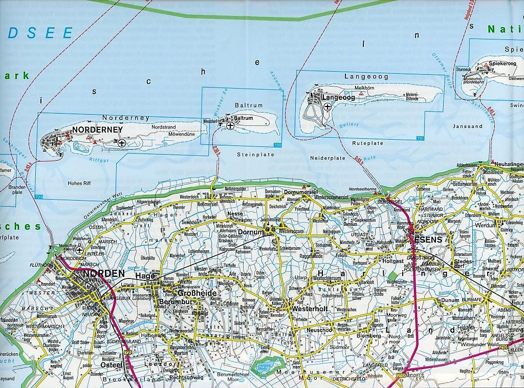 K303274sten Andalusien Karte.Juist Karte