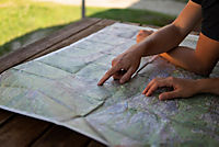 Kompass Karte Korsika Süd, Corse du Sud, Weitwanderweg GR20, 3 Bl. - Produktdetailbild 1
