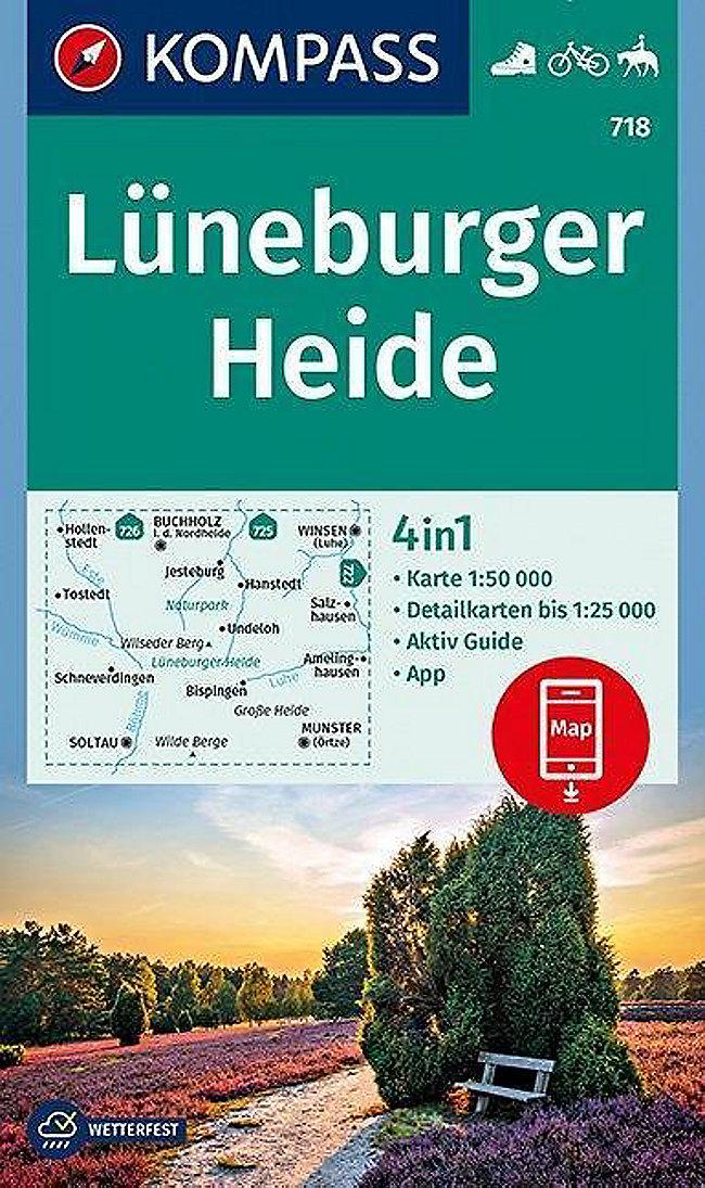 Karte Lüneburger Heide Und Umgebung.Kompass Karte Lüneburger Heide Buch Portofrei Bei Weltbild De