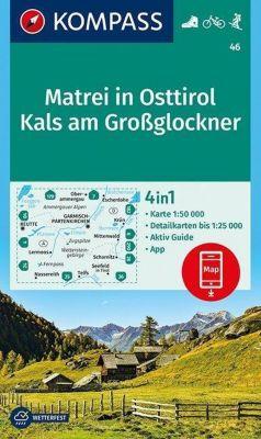 Kompass Karte Matrei in Osttirol, Kals am Großglockner