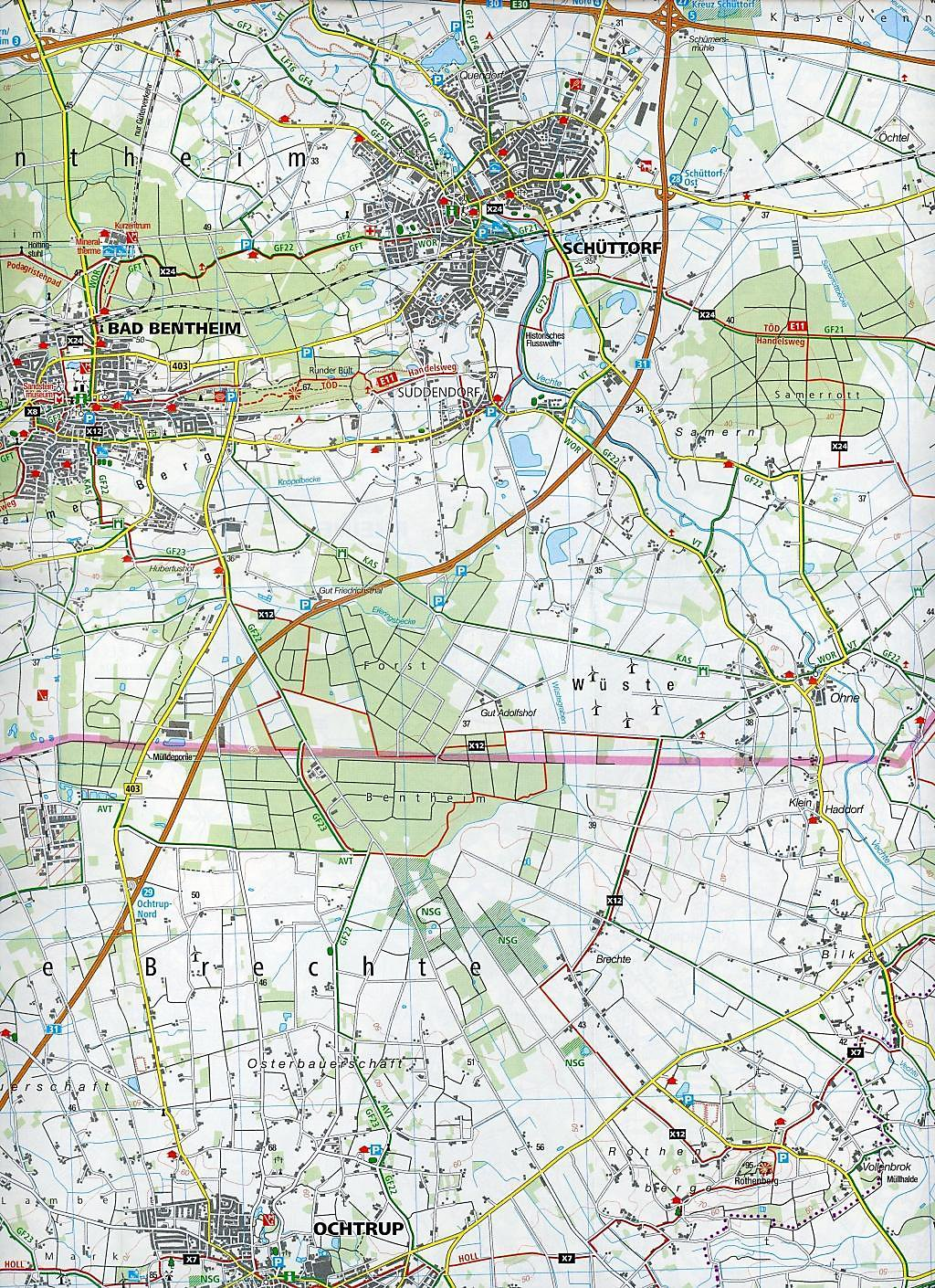 Karte Münsterland.Kompass Karte Münsterland 3 Bl M Kompass Naturführer Wiesenblumen