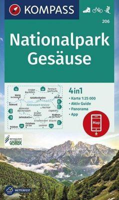 Kompass Karte Nationalpark Gesäuse