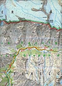 Kompass Karte Naturpark Texelgruppe, Meraner Höhenweg; Parco Naturale Gruppo di Tessa, Alta Via di Merano - Produktdetailbild 1