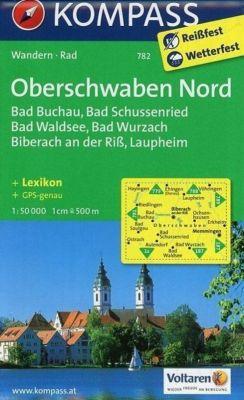 Kompass Karte Oberschwaben Nord