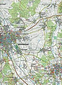 Kompass Karte Oberschwaben Nord - Produktdetailbild 1