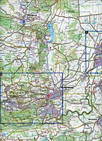 Kompass Karte Pfaffenwinkel, Schongau, Weilheim i. OB - Produktdetailbild 1