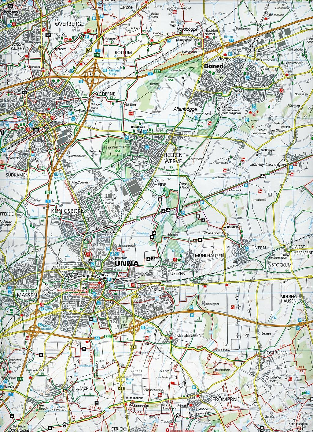 Karte Ruhrgebiet.Kompass Karte Ruhrgebiet 3 Bl Buch Portofrei Bei Weltbild De