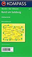 Kompass Karte Rund um Salzburg, 2 Bl. m. Kompass Naturführer Wiesenblumen - Produktdetailbild 1
