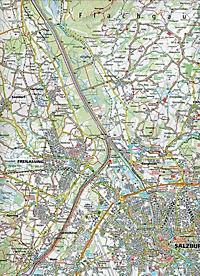 Kompass Karte Rund um Salzburg, 2 Bl. m. Kompass Naturführer Wiesenblumen - Produktdetailbild 2