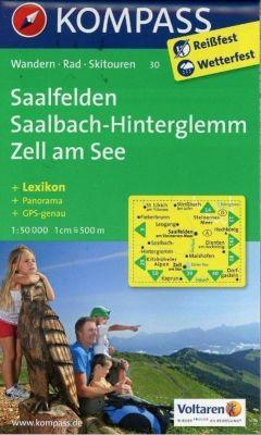 Kompass Karte Saalfelden, Saalbach, Zell am See