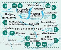 Kompass Karte Salzkammergut, 2 Bl. - Produktdetailbild 1