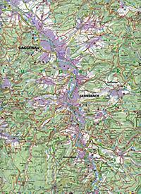 Kompass Karte Schwarzwald Nord, 2 Bl. - Produktdetailbild 1