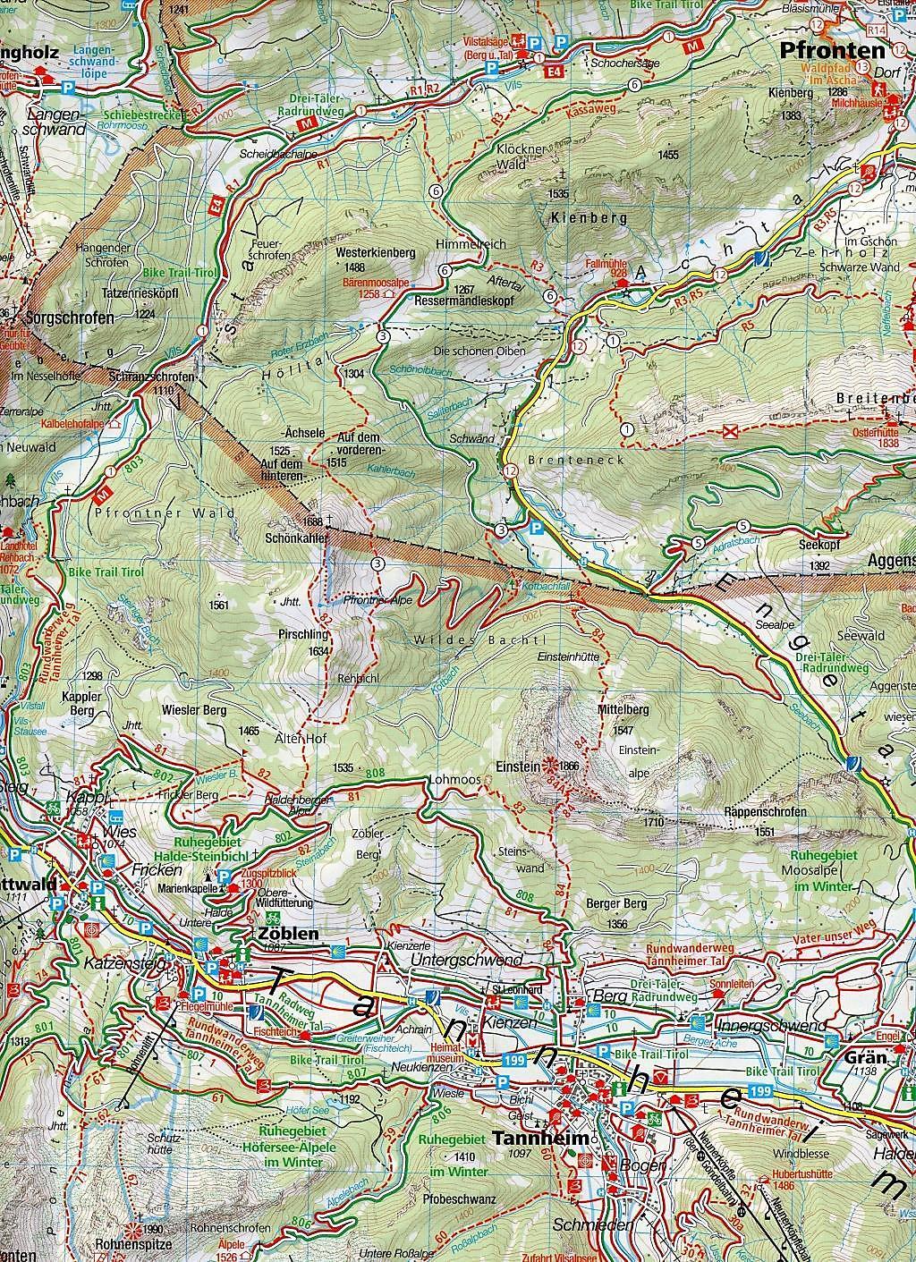 Tannheimer Tal Karte.Kompass Karte Tannheimer Tal Buch Bei Weltbild De Bestellen