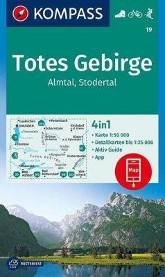 Kompass Karte Totes Gebirge, Almtal, Stodertal
