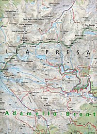 Kompass Karte Val di Sole, Madonna di Campiglio, Malè, Passo del Tonale, Peio, Rabbi - Produktdetailbild 1