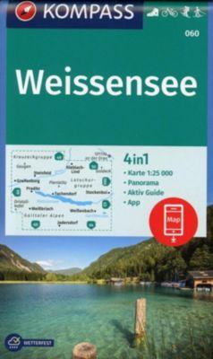 Kompass Karte Weißensee