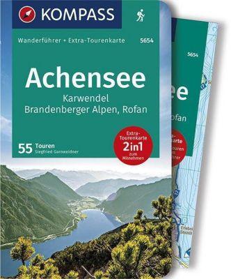 KOMPASS Wanderführer Achensee, Karwendel, Brandenberger Alpen, Rofan, m. 1 Karte - Siegfried Garnweidner |