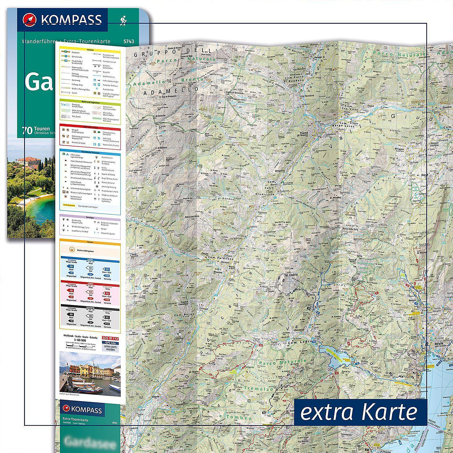 Berchtesgadener Land Karte.Kompass Wanderführer Berchtesgadener Land Und Steinernes Meer M 1