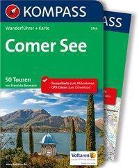 Kompass Wanderführer Comer See, m. 1 Karte - Franziska Baumann |