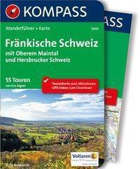 Kompass Wanderführer Fränkische Schweiz mit Oberem Maintal und Hersbrucker Schweiz, m. 1 Karte - Lisa Aigner |