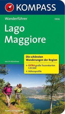 Kompass Wanderführer Lago Maggiore, Iris Kürschner