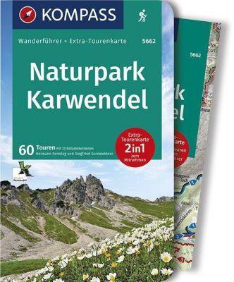 Kompass Wanderführer Naturpark Karwendel, m. 1 Karte