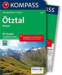 KOMPASS Wanderführer Ötztal, Pitztal, m. 1 Karte