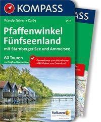 Kompass Wanderführer Pfaffenwinkel, Fünfseenland, Starnberger See, Ammersee, m. 1 Karte - Siegfried Garnweidner |