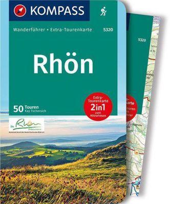 KOMPASS Wanderführer Rhön, m. 1 Karte - Kay Tschersich |