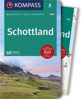 KOMPASS Wanderführer Schottland, Wanderungen an den Küsten und in den Highlands, m. 1 Karte - Michael Will pdf epub