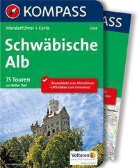 KOMPASS Wanderführer Schwäbische Alb, m. 1 Karte - Walter Theil |